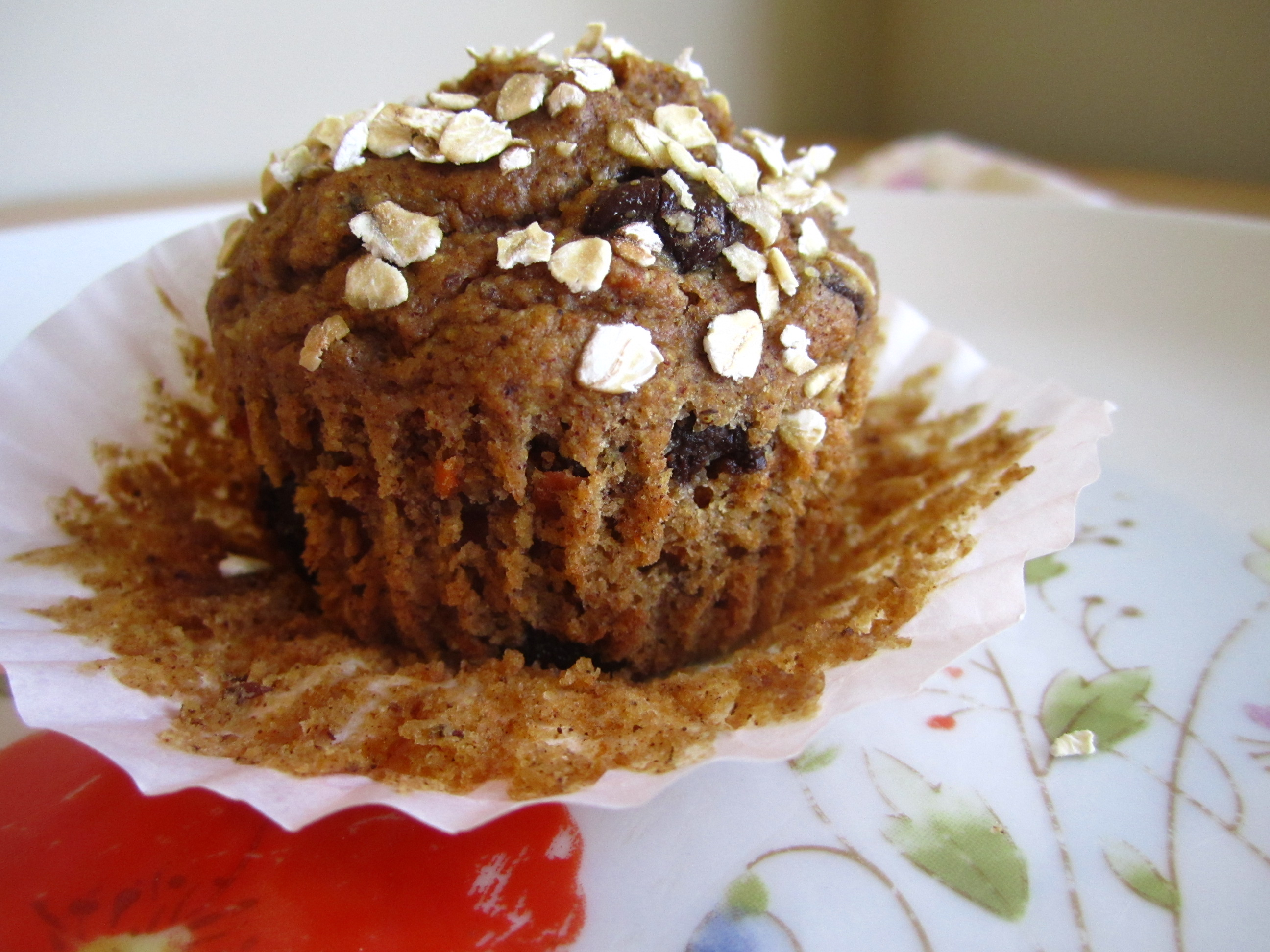 chocolate chip carrot muffins | the patron saint of pie