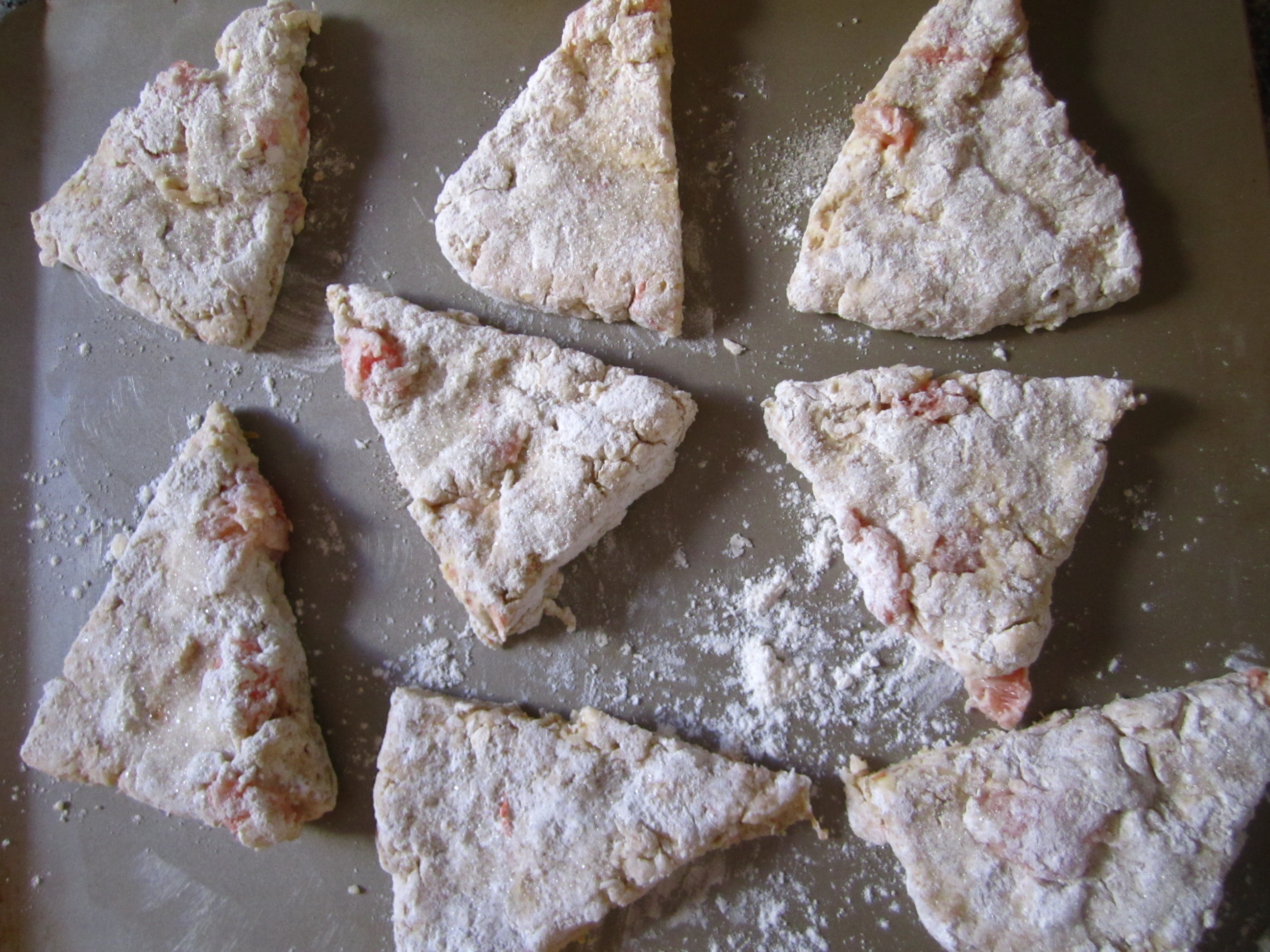 grapefruit oat & honey scones | the patron saint of pie