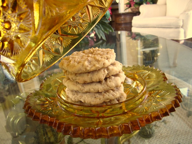 Oatmeal crispies cookies