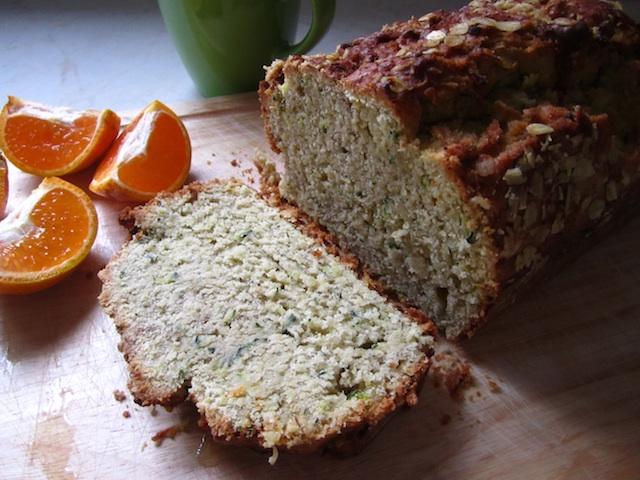 orange zucchini bread