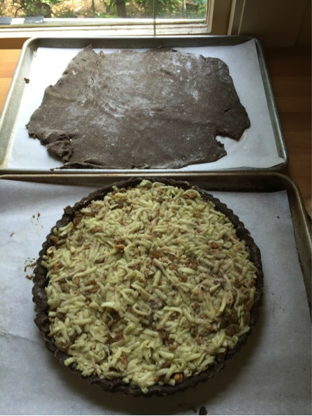 buckwheat apple tart