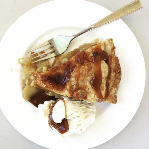 bourbon ginger apple pie